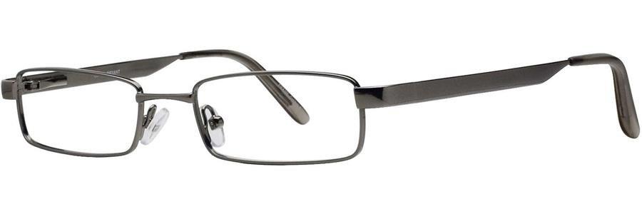 Gallery BRYANT Gunmetal Eyeglasses Size49-19-135.00