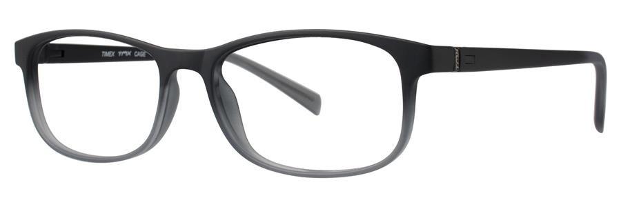 Timex CAGE Black Eyeglasses Size52-16-135.00