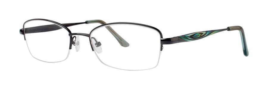 Dana Buchman CAIRA Black Eyeglasses Size52-17-135.00