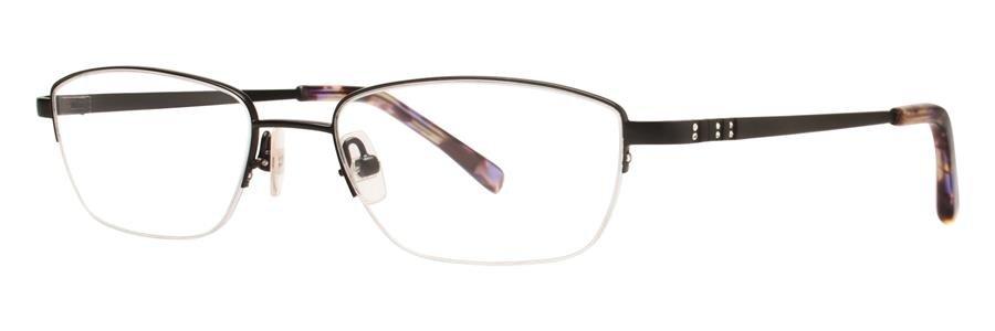 Vera Wang CALLISTO Black Eyeglasses Size52-17-135.00