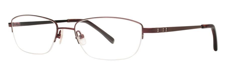 Vera Wang CALLISTO Crimson Eyeglasses Size52-17-135.00