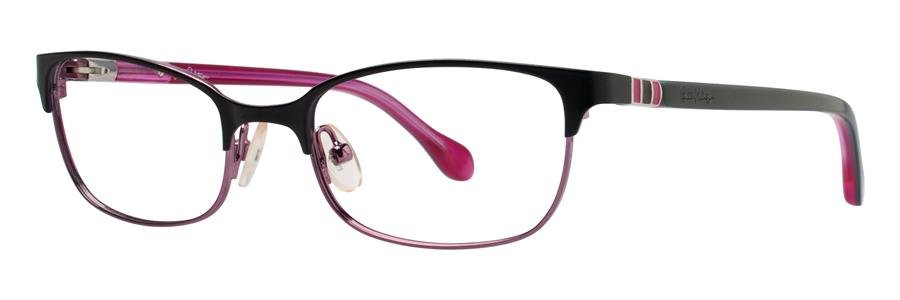 Lilly Pulitzer CAMBREY Black Eyeglasses Size50-17-135.00