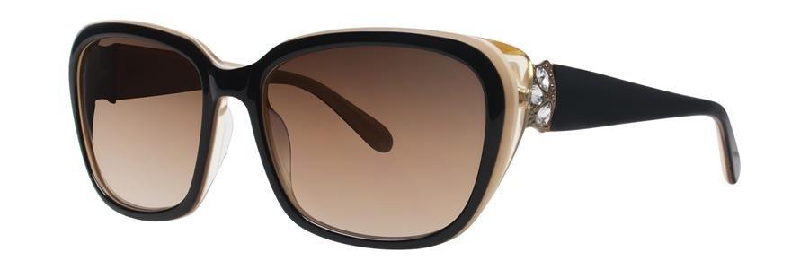 Vera Wang CAMELLIA Black Sunglasses Size57-17-135.00