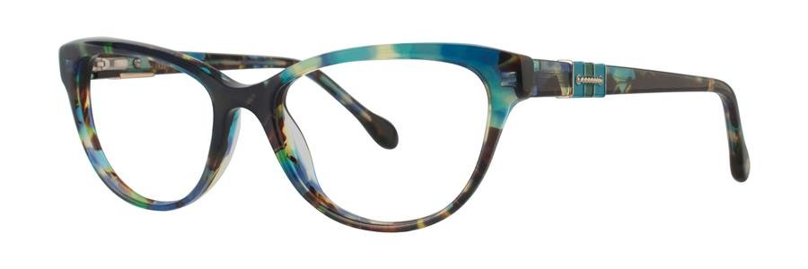 Lilly Pulitzer CAPTIVA Aqua Havana Eyeglasses Size50-16-135.00