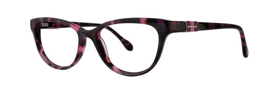 Lilly Pulitzer CAPTIVA Pink Tortoise Eyeglasses Size52-16-135.00