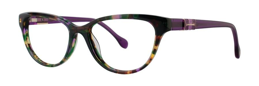 Lilly Pulitzer CAPTIVA Purple Havana Eyeglasses Size52-16-135.00