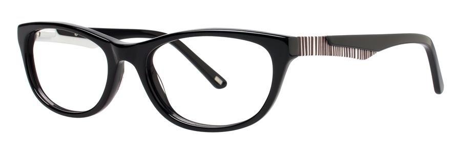 Timex CARAVAN Black Eyeglasses Size50-17-130.00