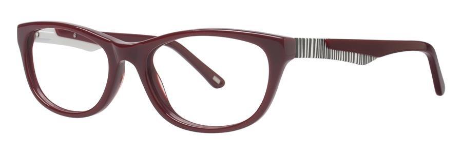 Timex CARAVAN Burgundy Eyeglasses Size52-17-135.00