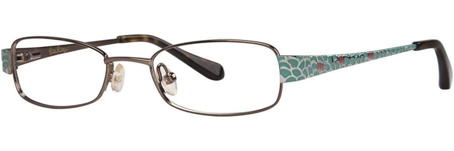 Lilly Pulitzer CAROLINA Brown Eyeglasses Size47-17-130.00