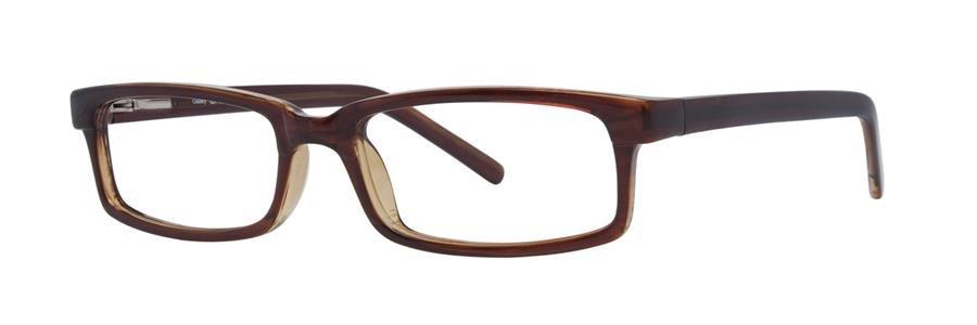 Gallery CASPER Brown Eyeglasses Size52-19-140.00