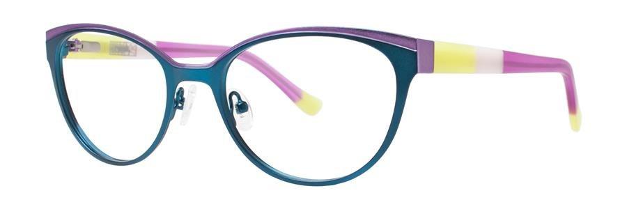 kensie CELEBRATE Teal Eyeglasses Size53-19-135.00