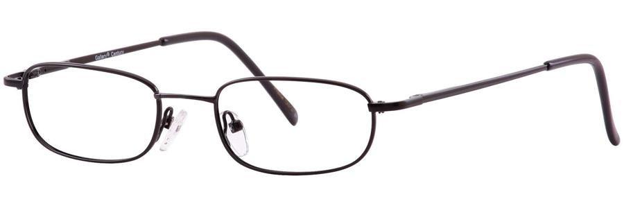 Gallery CENTURY Black Eyeglasses Size47-18-135.00