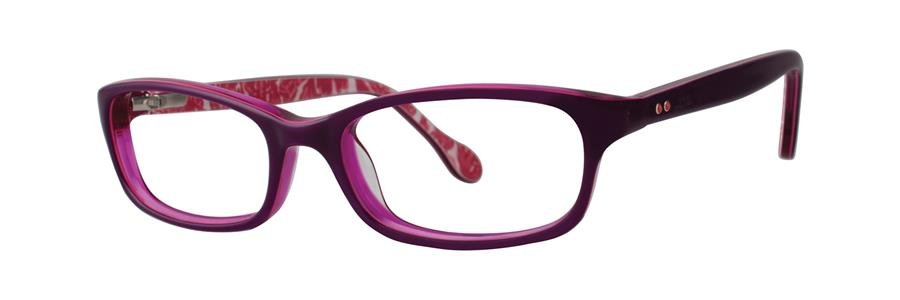 Lilly Pulitzer CHANDIE Eggplant Eyeglasses Size46-15-125.00