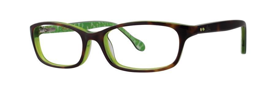 Lilly Pulitzer CHANDIE Tortoise Eyeglasses Size46-15-125.00