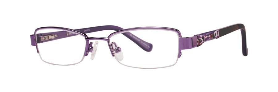 kensie CHARM Purple Eyeglasses Size45-16-125.00