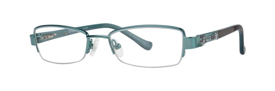 kensie CHARM Teal Eyeglasses Size45-16-125.00