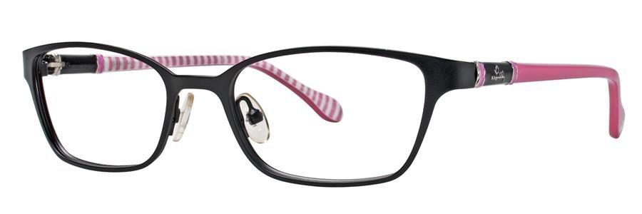 Lilly Pulitzer CHATHAM Black Eyeglasses Size51-17-135.00