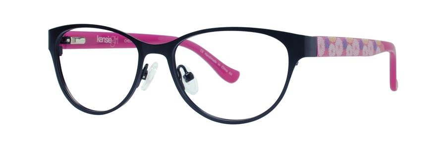 kensie CHEER Black Eyeglasses Size48-14-130.00