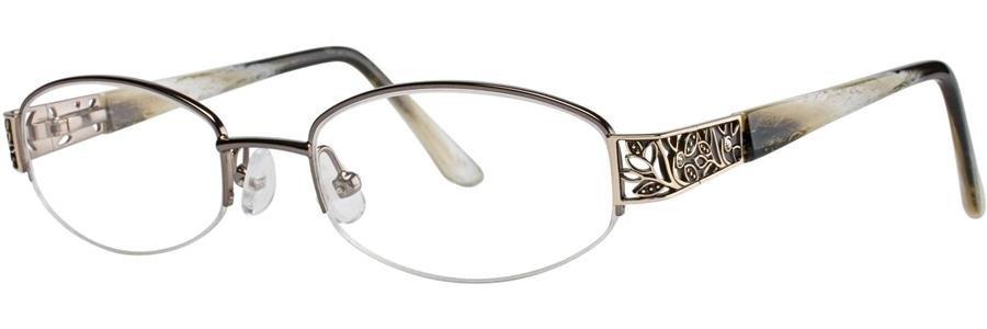 Dana Buchman CLARICE Black Eyeglasses Size50-18-135.00