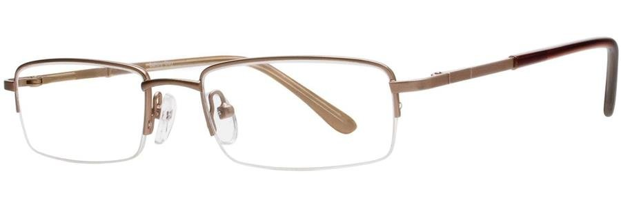 Gallery CLAY Brown Eyeglasses Size49-15-135.00