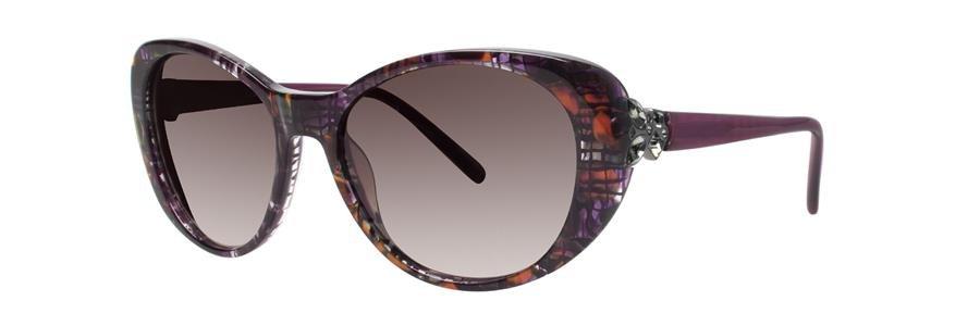 Vera Wang CYNOSURE Burgundy Sunglasses Size54-17-135.00