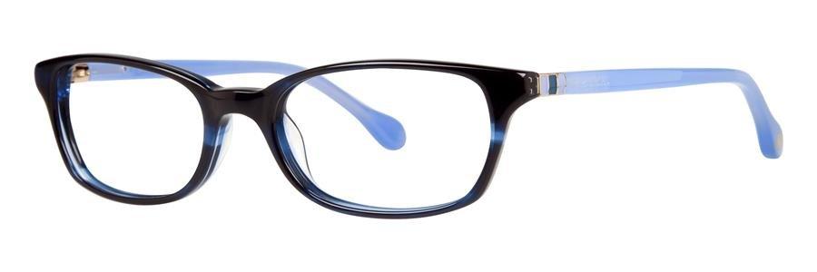 Lilly Pulitzer DAENA Navy Havana Eyeglasses Size50-17-135.00