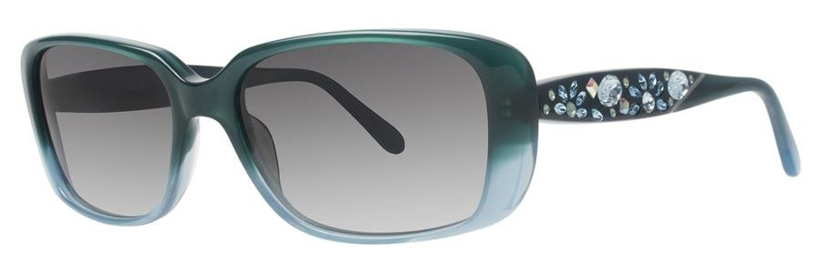 Vera Wang DALLIANCE Teal Sunglasses Size54-16-140.00