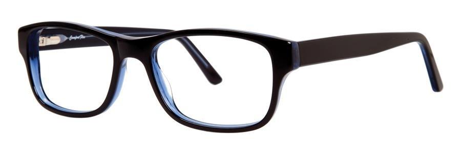 Comfort Flex DARIN Black/Blue Eyeglasses Size55-17-145.00