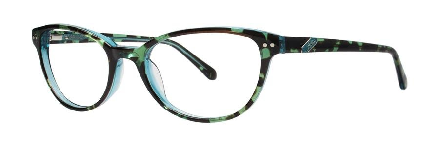 Lilly Pulitzer DAVIE Aqua Tortoise Eyeglasses Size52-18-135.00