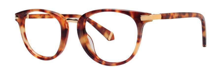 Zac Posen DAYLE Red Tortoise Eyeglasses Size48-20-135.00