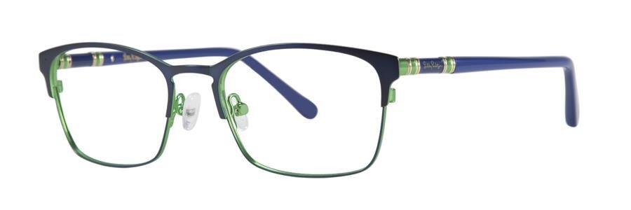 Lilly Pulitzer DAYLIN Navy Eyeglasses Size49-17-135.00