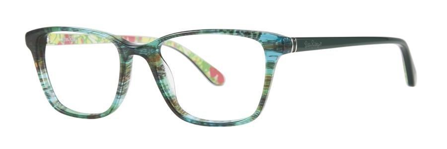 Lilly Pulitzer DELFINA Sea Grass Eyeglasses Size51-16-135.00