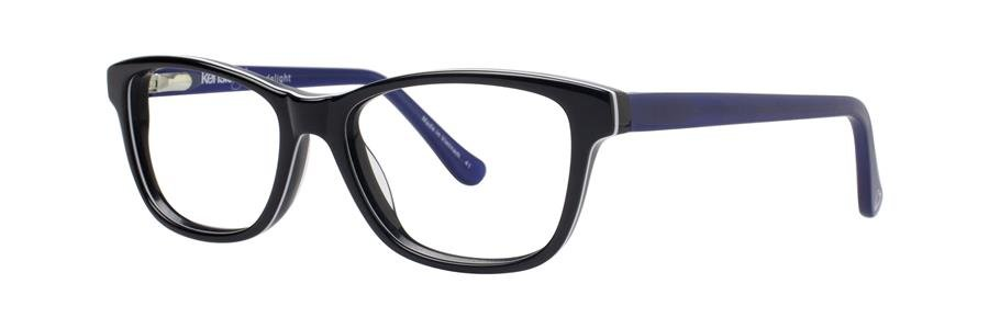 kensie DELIGHT Black Eyeglasses Size47-14-125.00