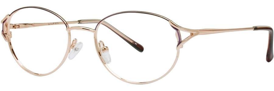 Gallery DELLA Burgundy Eyeglasses Size52-18-135.00