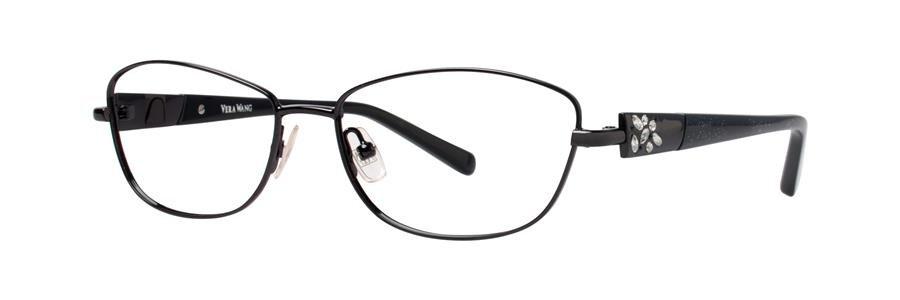 Vera Wang DIAPHANOUS Black Eyeglasses Size51-15-132.00