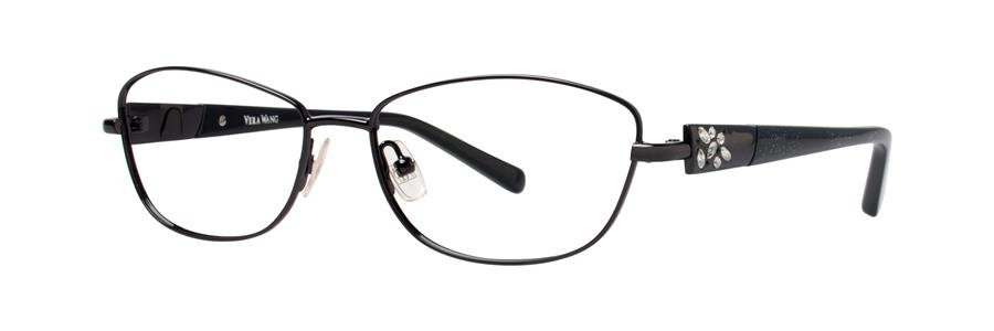 Vera Wang DIAPHANOUS Black Eyeglasses Size53-15-135.00