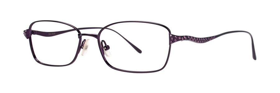 Vera Wang DIVETTA Amethyst Eyeglasses Size50-15-132.00