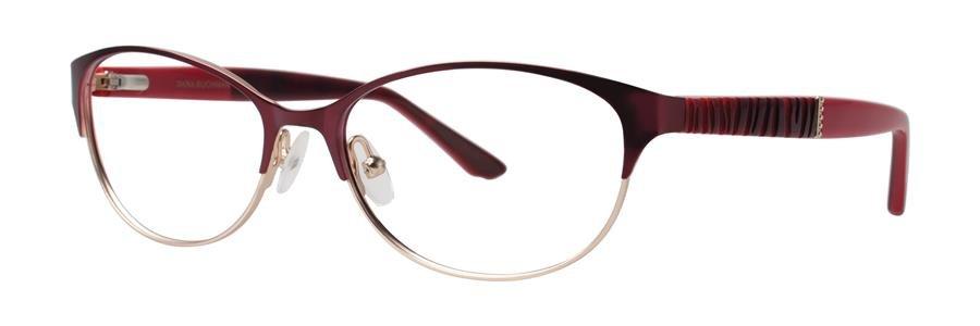 Dana Buchman DODIE Burgundy Eyeglasses Size51-15-130.00