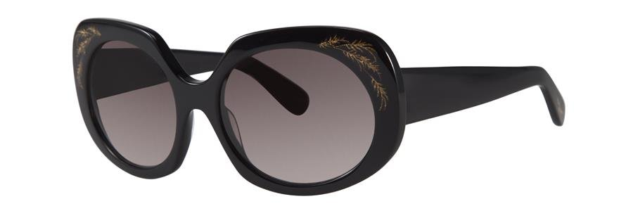 Zac Posen DOVIMA Black Sunglasses Size55-18-135.00
