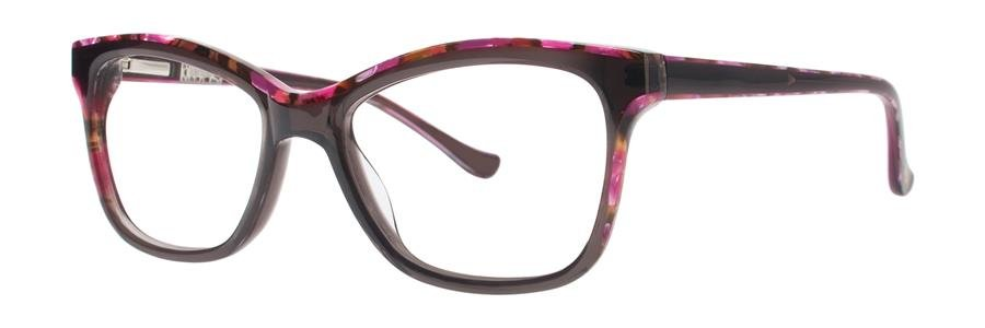 kensie DOWNTOWN Gray Eyeglasses Size52-16-135.00