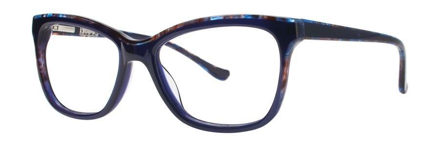 kensie DOWNTOWN Navy Eyeglasses Size52-16-135.00