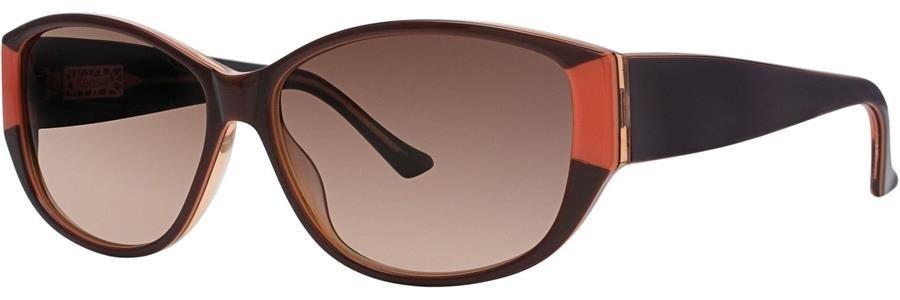 kensie DRESS ME UP Brown Sunglasses Size57-13-140.00