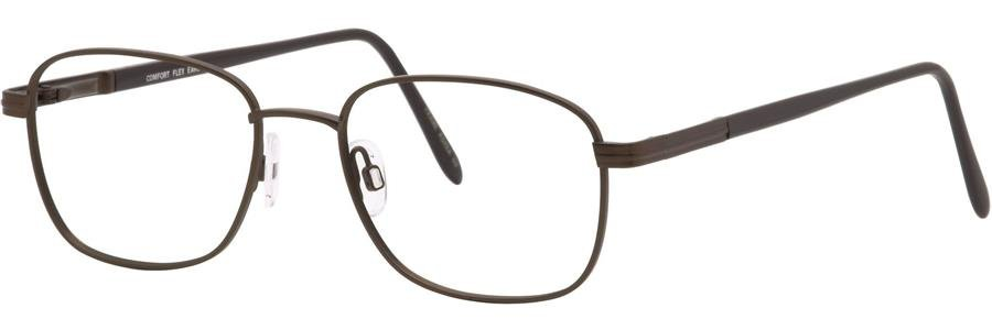 Comfort Flex EARL Brown Eyeglasses Size53-19-140.00