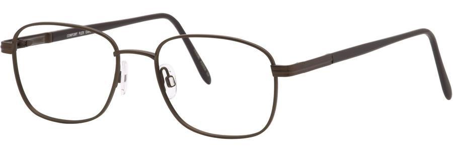 Comfort Flex EARL Brown Eyeglasses Size55-19-145.00