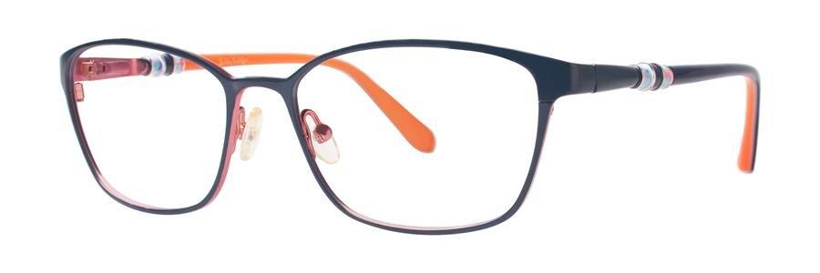 Lilly Pulitzer EATON Navy Eyeglasses Size53-16-135.00