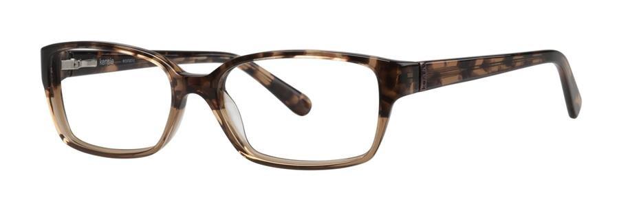kensie ECSTATIC Brown Eyeglasses Size49--125.00