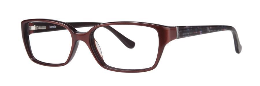 kensie ECSTATIC Maroon Eyeglasses Size53--135.00
