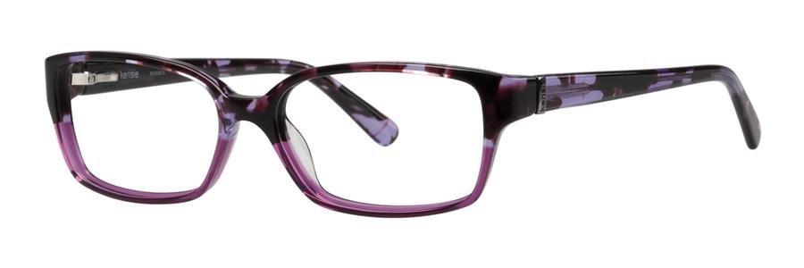 kensie ECSTATIC Plum Eyeglasses Size51-15-130.00