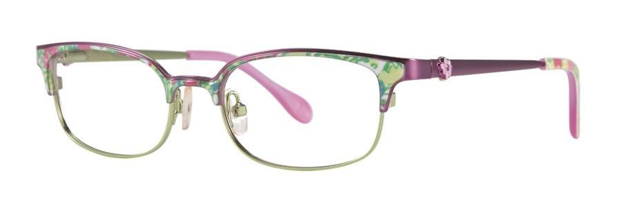 Lilly Pulitzer EFFIE Pink Eyeglasses Size46-16-125.00