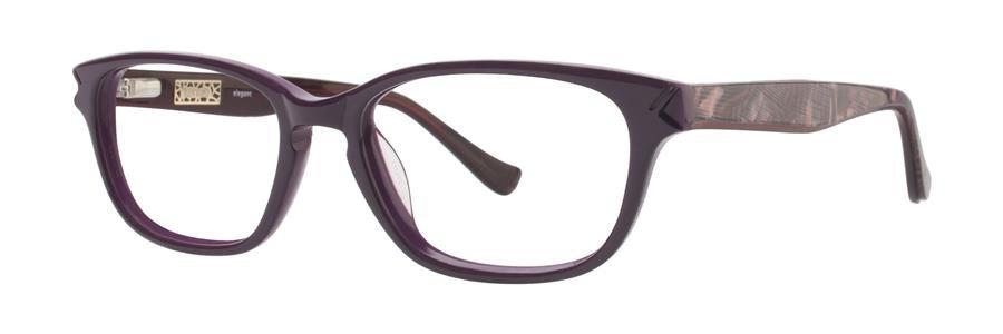 kensie ELEGANT Aubergine Eyeglasses Size53-17-130.00